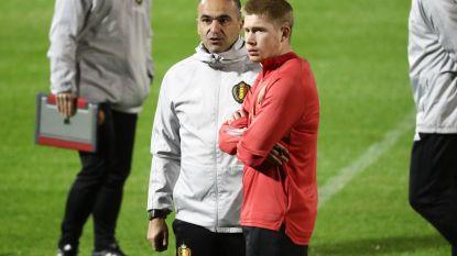 """Bondscoach Martínez: """"De Bruyne zal vertrek overwegen als City wordt uitgesloten van Champions League"""""""
