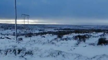 Terwijl Europa en Noord-Amerika sudderen in de braadpan, sneeuwt het in Zuid-Afrika