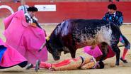 Voor het eerst deze eeuw Spaanse matador door stier gedood