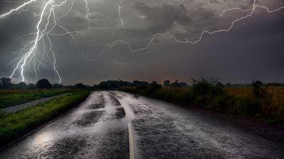 Genoten van de zon? Zondag alweer onweer met mogelijke wateroverlast verwacht