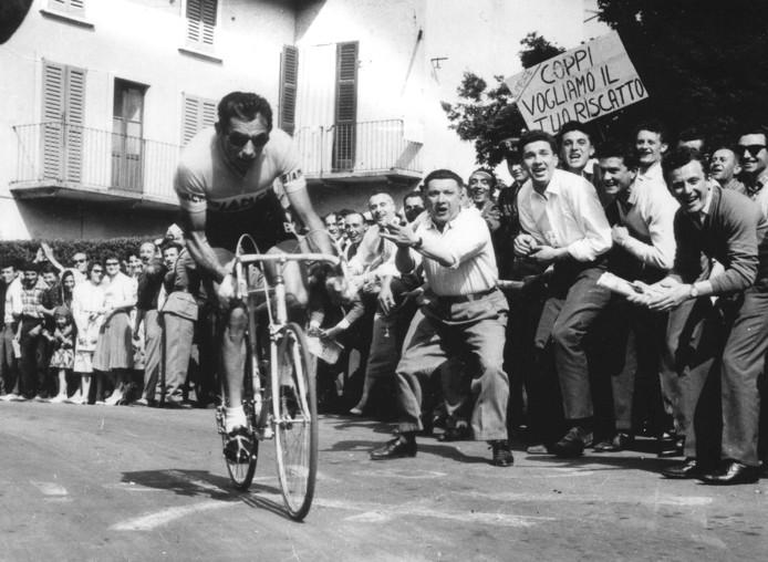 Fausto Coppi in 1958.