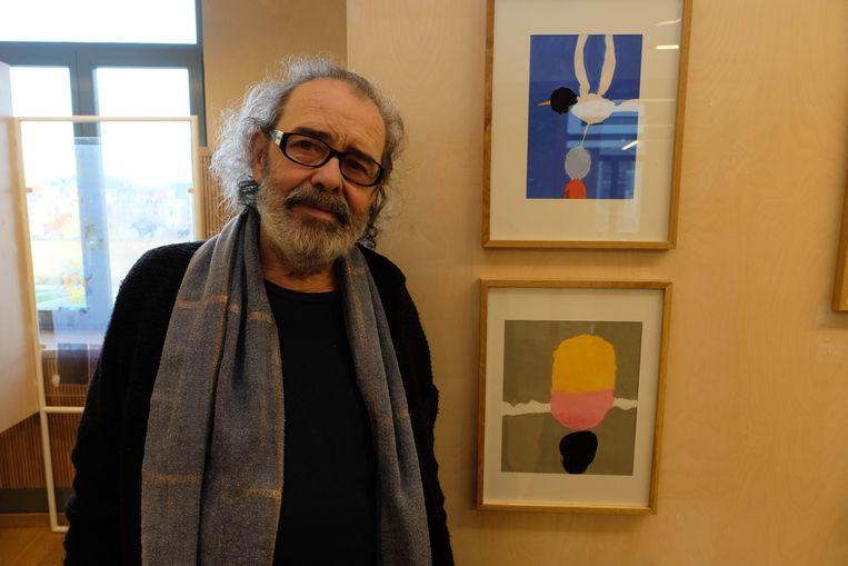 André Sollie exposeert nog tot en met 16 februari in Het Predikheren in Mechelen.