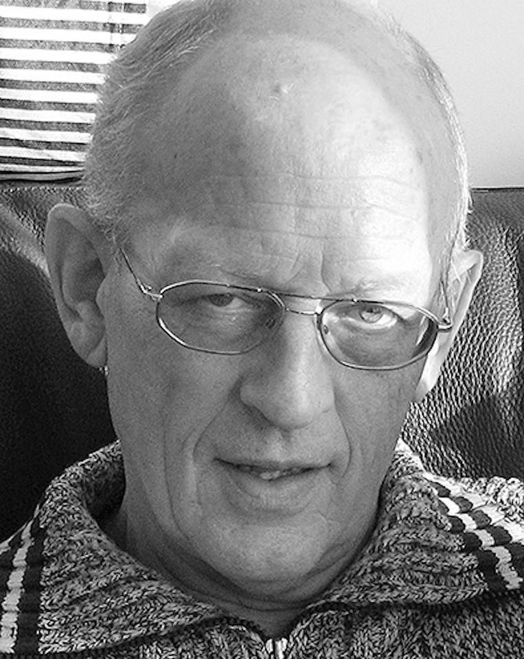 Ed Renkema, bestuurslid van Huurdersvereniging Oostzaan. Beeld