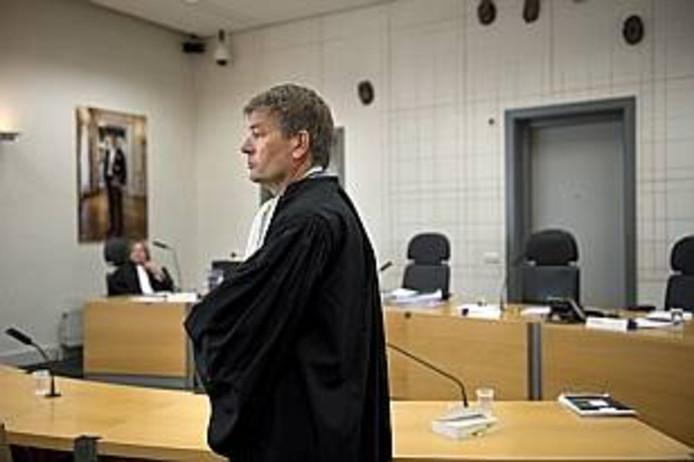 Advocaat Tjalling van der Goot.