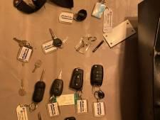 Grote opluchting voor autoverhuurder: Gestolen kluis met autosleutels is terecht
