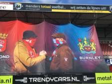 Voetbalfans We Are Helmond en Burnley vieren 75 jaar vrijheid