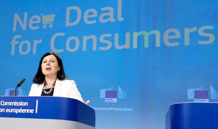 EU-commissaris Vera Jourova.