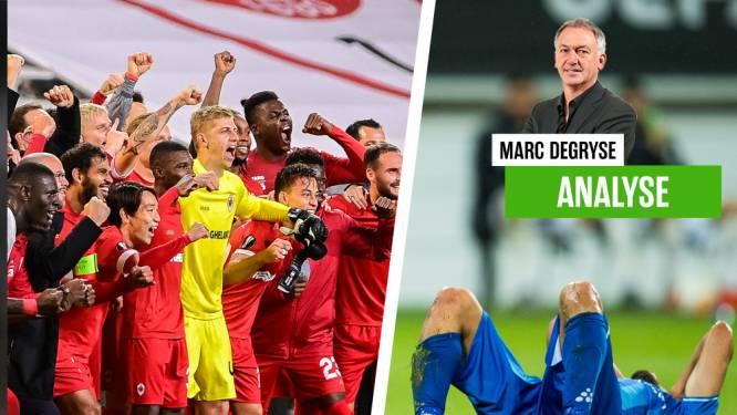 """Onze huisanalist Marc Degryse looft Antwerp, maar is hard voor Gent: """"Stel je eens voor dat ze in CL-poule met Barça en Juve hadden gezeten"""""""
