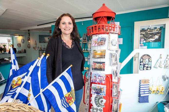 """Astrid Rijkse van Zeeuws en Zo: ,,De bed and breakfasts in het dorp zijn erg blij met ons!"""""""