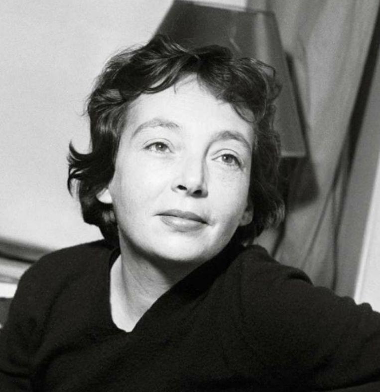Marguerite Duras Beeld RV