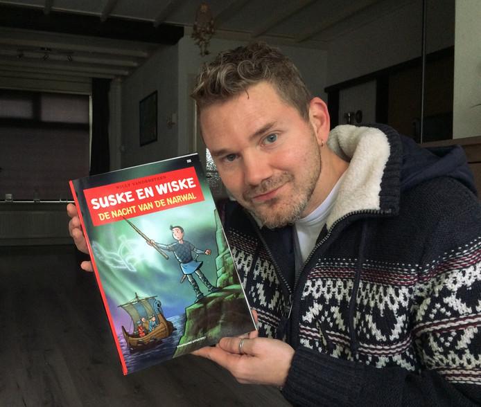 Thijs Wessels uit Hengelo is de nieuwe tekenaar van Suske en Wiske.