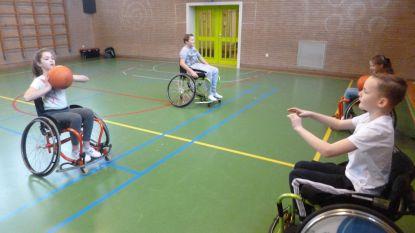 Leerlingen Klein Seminarie maken kennis met G-sport