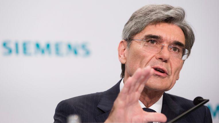 Joe Kaeser, topman van Siemens.