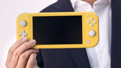 Light-versie van Nintendo Switch op komst: goedkoper en lichter dan grote broer