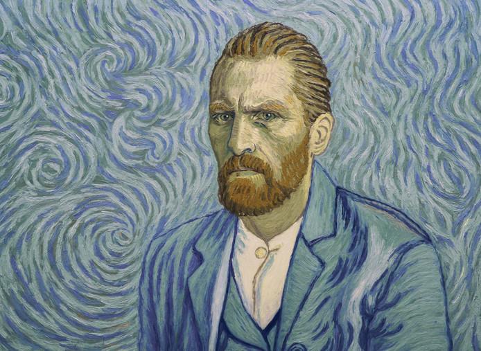 Fragmenten uit de speelfilm Loving Vincent, gemaakt met verf van verffabriek Royal Talens uit Apeldoorn.