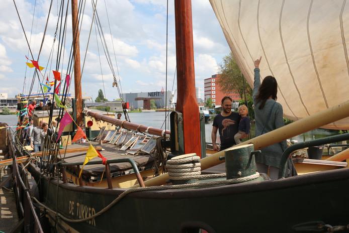 Deventer Burendag op zeilschip De Tukker.