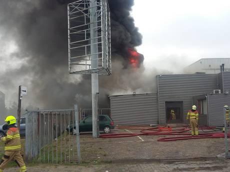 Grote brand in slagerij aan Westervoortsedijk in Arnhem