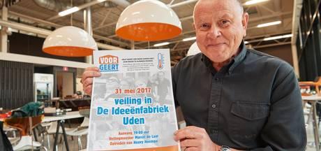 Veiling in De Ideeënfabriek in Uden voor zieke Geert Meijer
