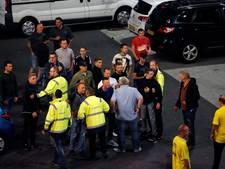 Geen arrestaties na ongeregeldheden Jong FC Utrecht - FC Oss