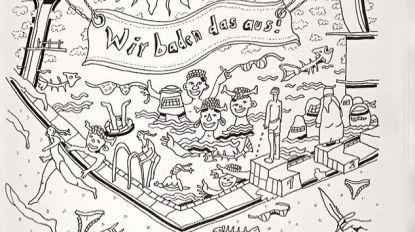 Ophef over racistisch kleurboek van extreemrechtse partij in Duitsland