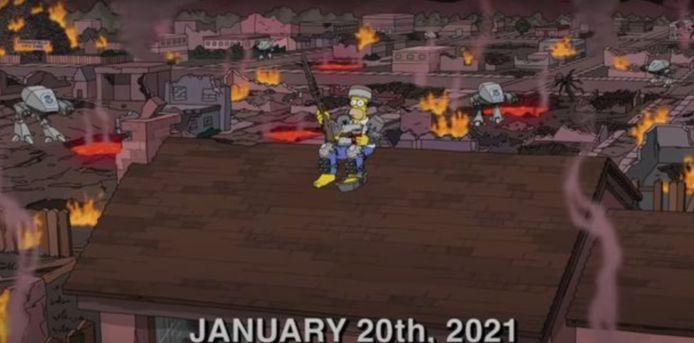 'The Simpsons' hebben geen goede vooruitzichten op 2021.