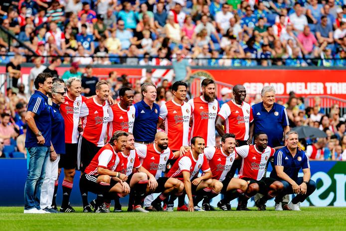 Oud-Feyenoorders tijdens de open dag van Feyenoord in De Kuip. Foto ter illustratie.