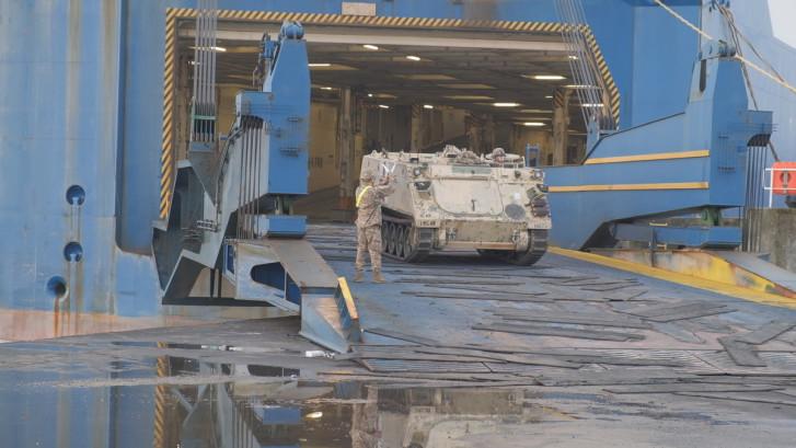Militair transport vanuit Verenigde Staten via Vlissingen: 'Klus binnen 30 dagen klaar'