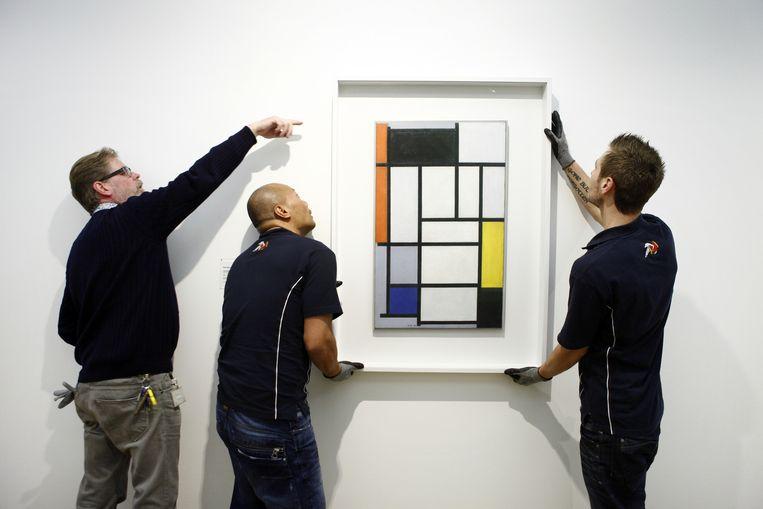 4. Beeldende kunst: 'Piet Mondriaan is tot een essentie gekomen die nu universeel is.' Beeld HH