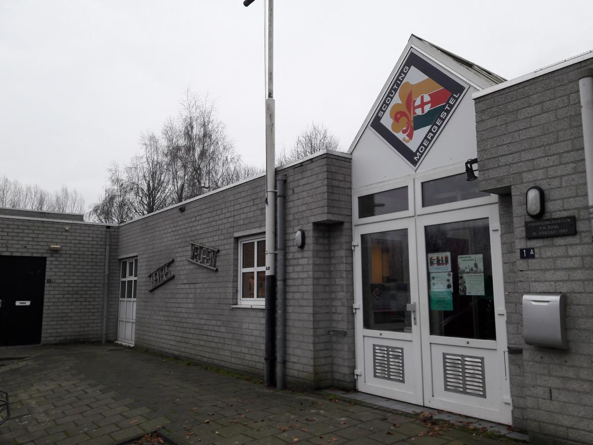 Verenigingsgebouw D'n Donk aan de Bosstraat in Moergestel