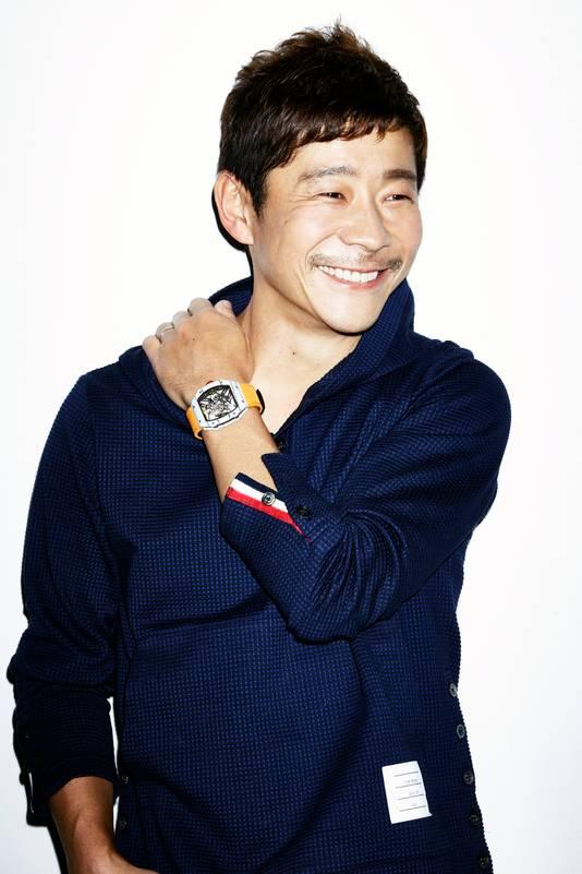 Yusaku Maezawa is de oprichter van Start Today. Hij kocht het werk van Jean-Michel Basquiat.