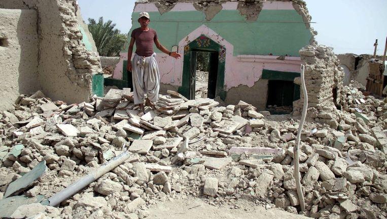 Schade door aarbeving in Pakistan Beeld ANP