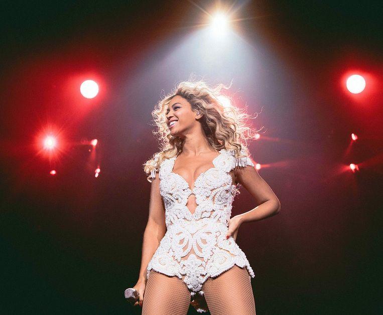 Beyoncé tijdens de Mrs. Carter World Tour, op 7 december in Phoenix, Arizona. Beeld null