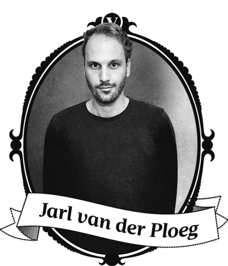 De jeugdige Rome-correspondent Jarl van der Ploeg. Beeld