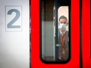 Des centaines d'amendes pour non-respect du port du masque dans les trains et les gares