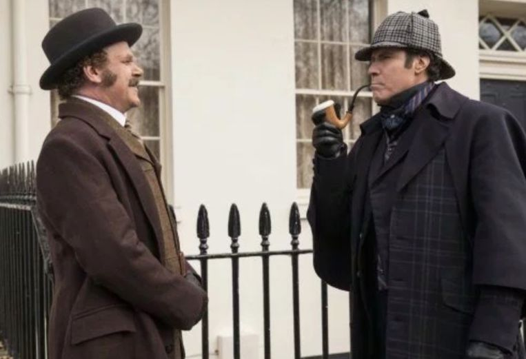 Will Ferrell en John C. Reilly in 'Holmes & Watson'.