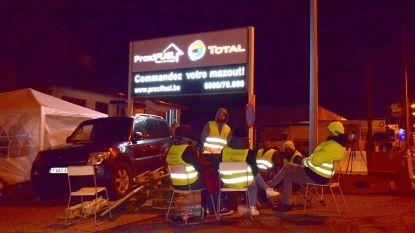 Total stuurt deurwaarder naar gele hesjes die brandstofdepot Wierde blokkeren
