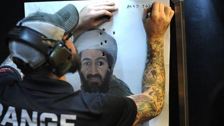 Bin Laden is al een half decennium dood, maar het trauma in de VS is nog niet verteerd. Dat bewijst deze schietstand in Machine Gun America, een toeristische attractie in Florida.