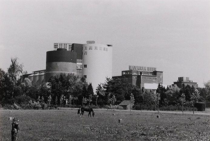 Aangezicht van de brouwerij.