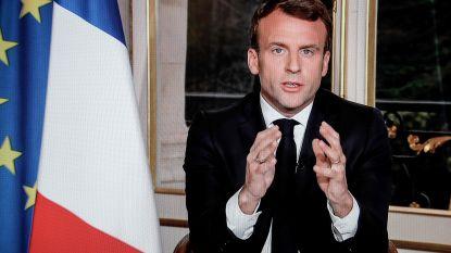 Macron wil de Notre-Dame in vijf jaar weer opbouwen