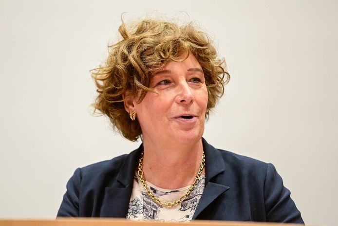 Minister van Telecommunicatie Petra De Sutter.