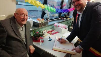 Oud-pastoor Berghmans viert 90ste verjaardag