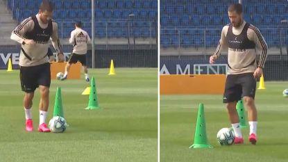 Eden Hazard weer op trainingsveld: Rode Duivel zit in laatste fase van revalidatie
