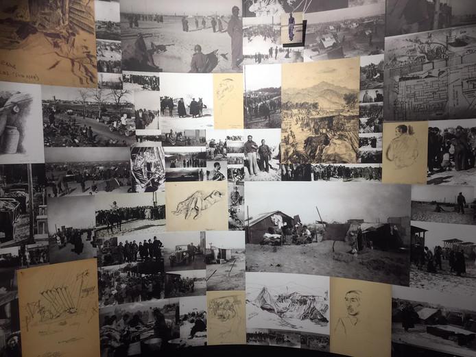 L'exposition temporaire pour les 80 ans de la Retirade à Argelès