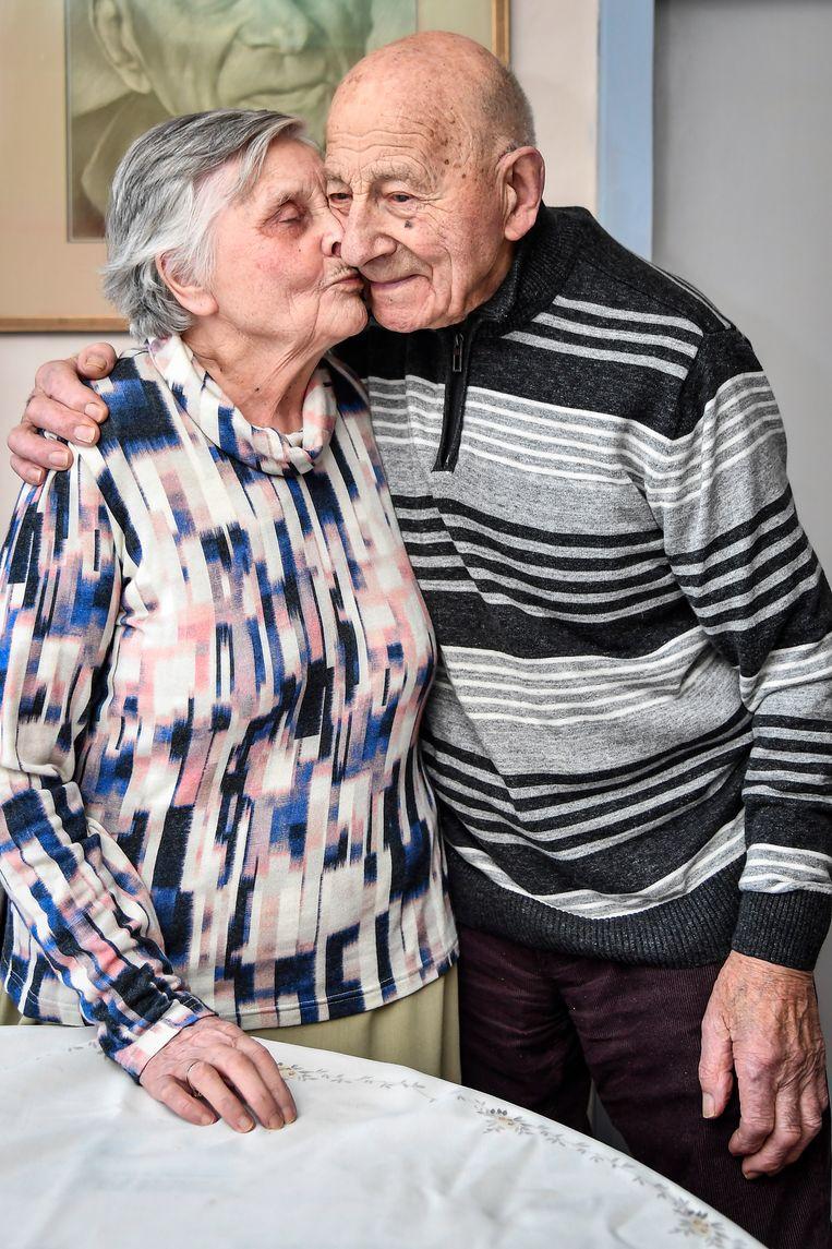 """""""We genieten na zeventig jaar nog altijd van de kleine dingen en elkaar"""", klinkt het."""