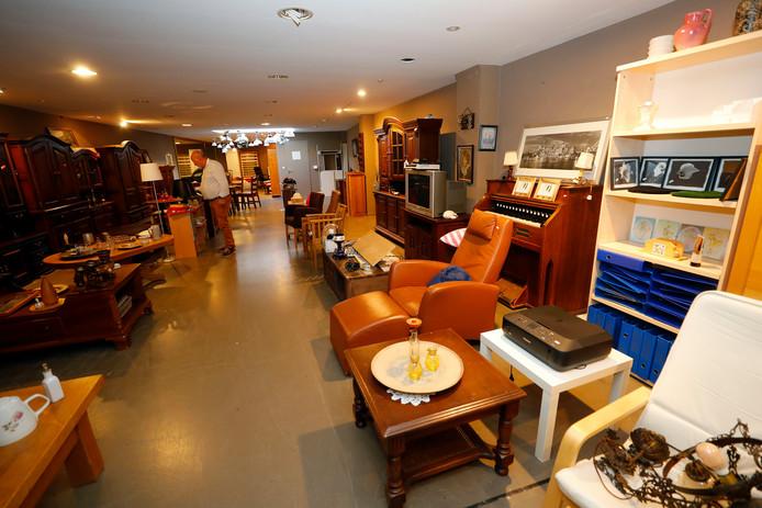 Kringloopwinkel 2Switch in Doesburg is op zoek naar een nieuw onderkomen. Archieffoto Bert Jansen