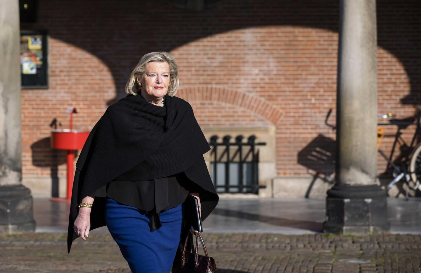 Ankie Broekers-Knol bij de Tweede Kamer.