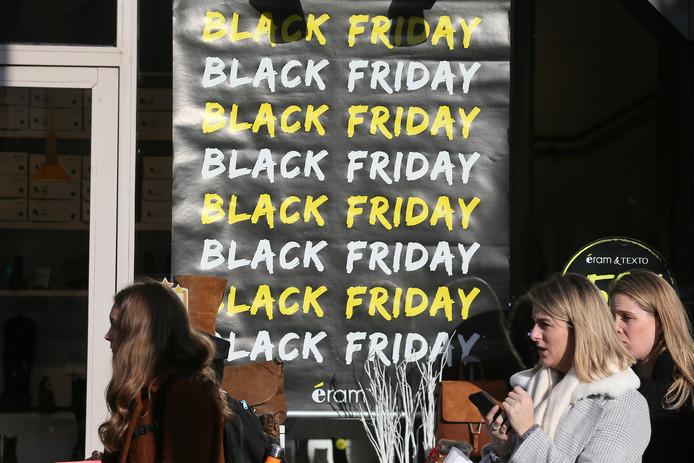 Black Friday in Rennes, in het westen van Frankrijk.