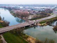Wantijbrug vrijdag op zaterdagnacht afgesloten vanwege werkzaamheden