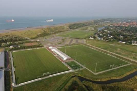 Het complex van De Meeuwen in Zoutelande.