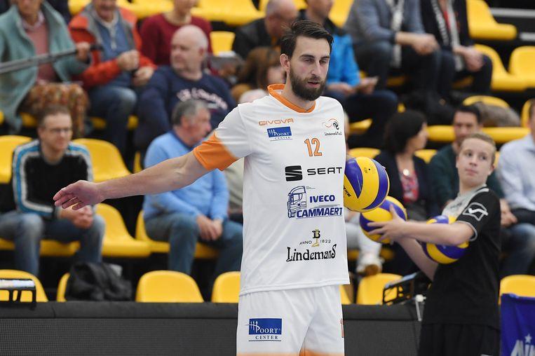 Simon Van de Voorde speelde met Lindemans tegen zijn ex-club Maaseik.